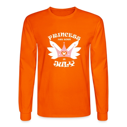Princess Are Born In July - Men's Long Sleeve T-Shirt