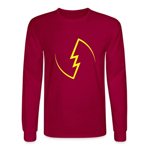 Electric Spark - Men's Long Sleeve T-Shirt
