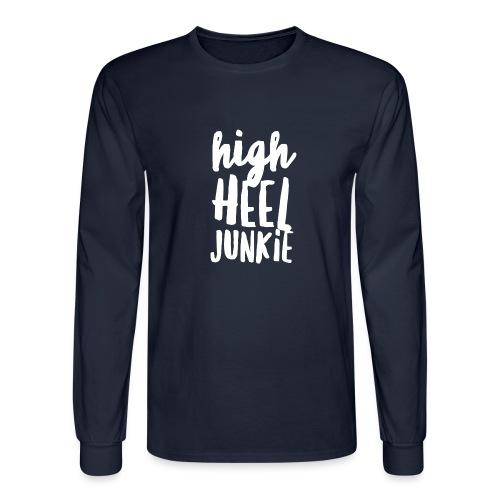 HHJ-White - Men's Long Sleeve T-Shirt