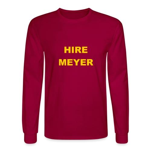 Hire Meyer - Men's Long Sleeve T-Shirt
