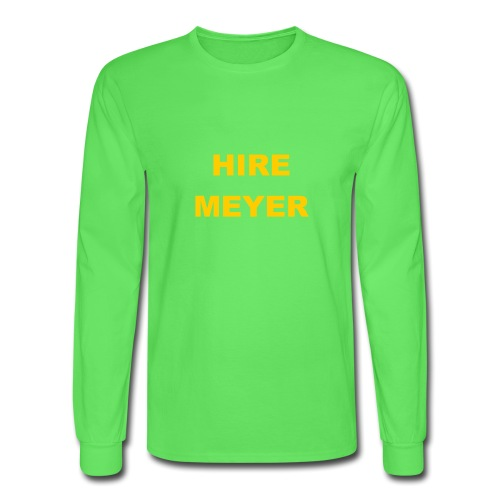 Hire Meyer - Men's Long Sleeve T-Shirt