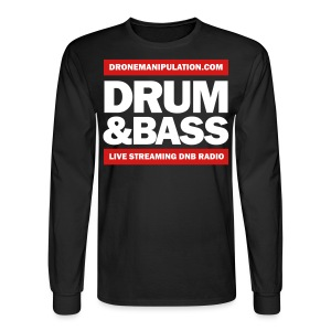 Drum and Bass - Men's Long Sleeve T-Shirt