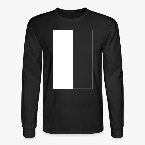 Black And White - Men's Long Sleeve T-Shirt