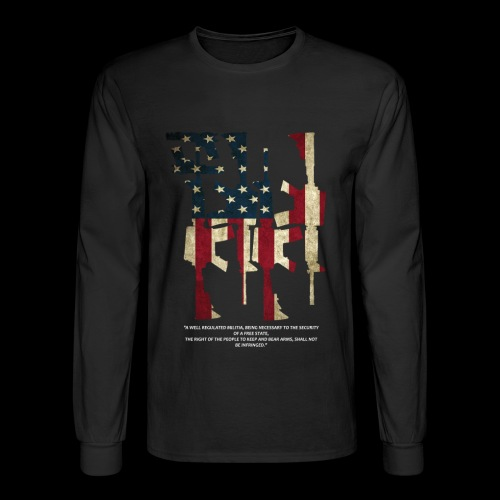 The 2nd Right is Best Right - Men's Long Sleeve T-Shirt