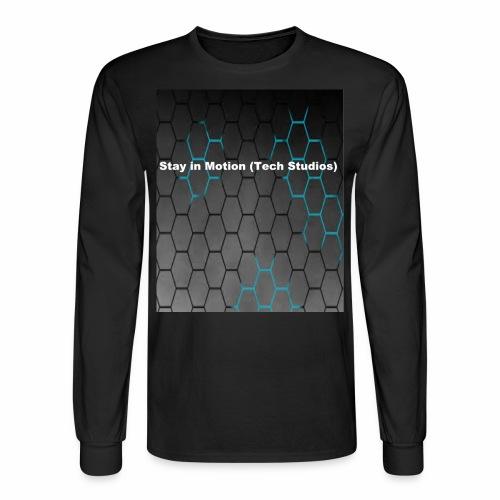 Stay in Motion Shirt - Men's Long Sleeve T-Shirt