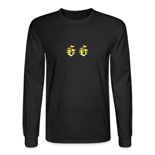 golden gamer logo - Men's Long Sleeve T-Shirt