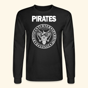 Punk Rock Pirates [heroes] - Men's Long Sleeve T-Shirt
