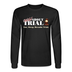 Eat, Sleep, Breathe Trial. - Men's Long Sleeve T-Shirt