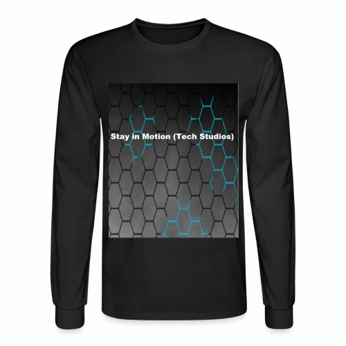 Stay in Motion Shirt - Men's Long Sleeve T-Shirt