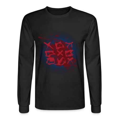 Tic Tac Toe - Men's Long Sleeve T-Shirt