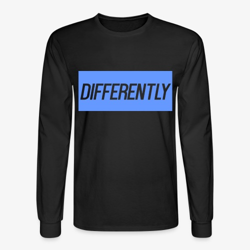 Differently Large Bogo - Men's Long Sleeve T-Shirt