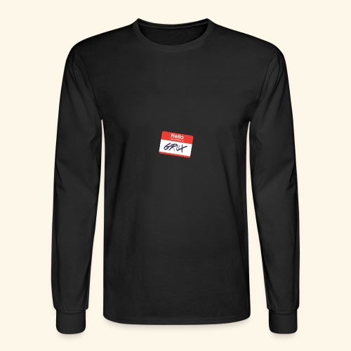 NameTag - Men's Long Sleeve T-Shirt
