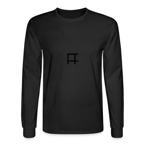 HUGE Logo - Men's Long Sleeve T-Shirt