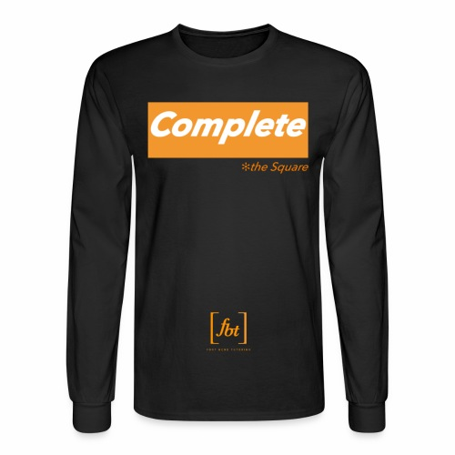 Complete the Square [fbt] - Men's Long Sleeve T-Shirt