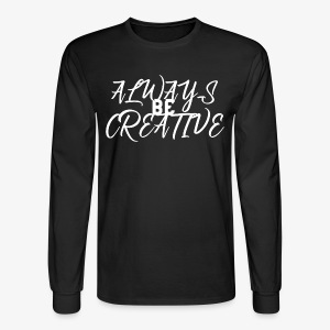 Creativity and Inspire - Men's Long Sleeve T-Shirt