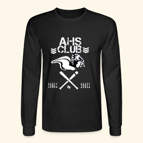 AHS CLUB T shirt - Men's Long Sleeve T-Shirt