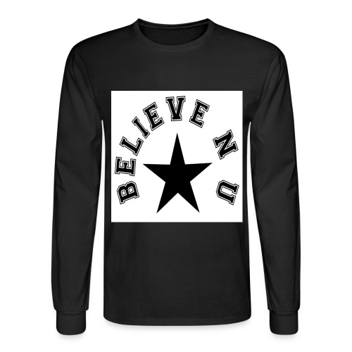 Believe N U - Men's Long Sleeve T-Shirt