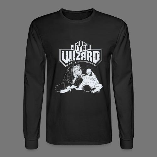 Jiu Jitsu Wizard- Crystal ball-o-plata - Men's Long Sleeve T-Shirt