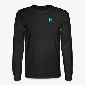Turquoise Mrzah Logo - Men's Long Sleeve T-Shirt