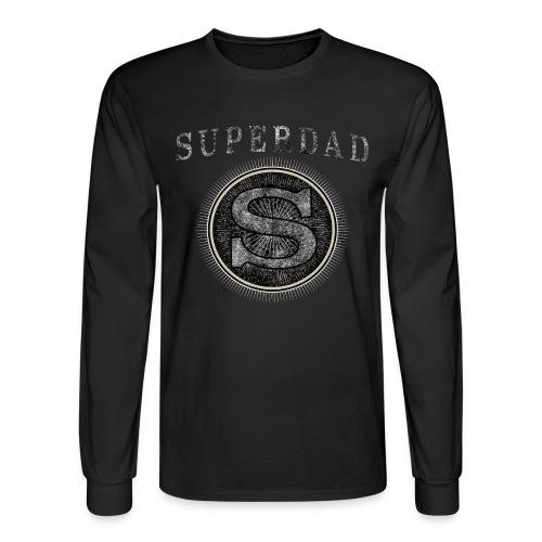 Father´s Day T-Shirt - Superdad - Men's Long Sleeve T-Shirt