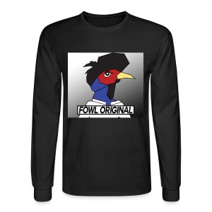 Fowl Original Logo - Men's Long Sleeve T-Shirt