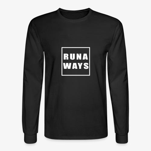 Runaways Box Logo - Men's Long Sleeve T-Shirt