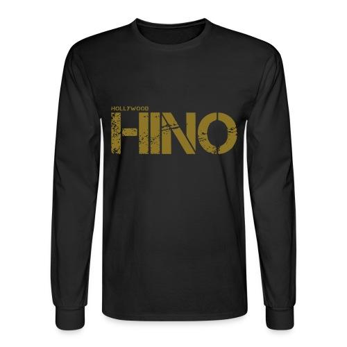 Hollywood Hino Text - Men's Long Sleeve T-Shirt