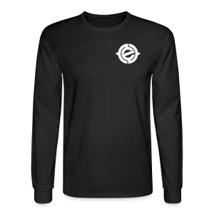 Logo White Heart - Men's Long Sleeve T-Shirt