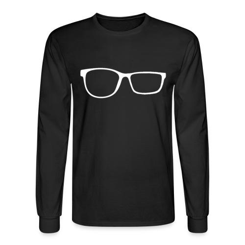 ZobGlasses White - Men's Long Sleeve T-Shirt
