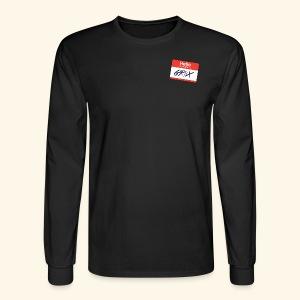 NameTag - Men's Long Sleeve T-Shirt