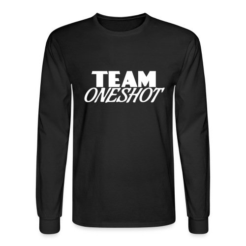Team One Shot - All Colours - Men's Long Sleeve T-Shirt