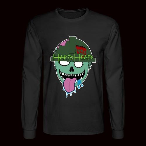 hard head zombie - Men's Long Sleeve T-Shirt