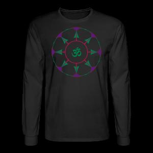 Mandala OM Hindu Symbol - Men's Long Sleeve T-Shirt