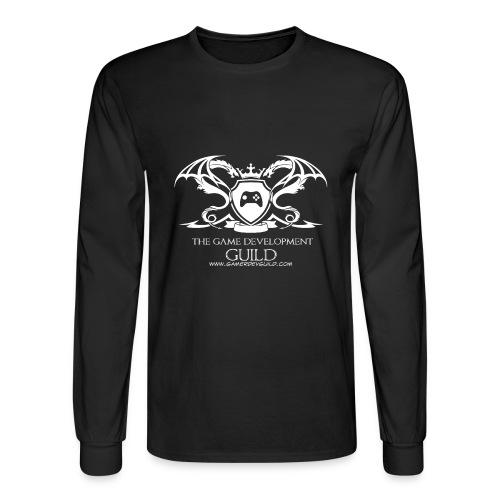 White Game Development Guild Crest - Men's Long Sleeve T-Shirt