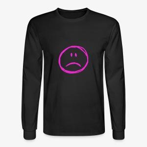 :( - Men's Long Sleeve T-Shirt