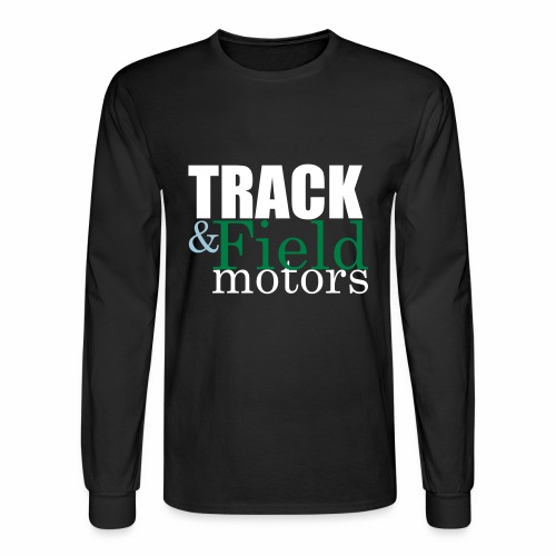 Track and Field Logo - Men's Long Sleeve T-Shirt
