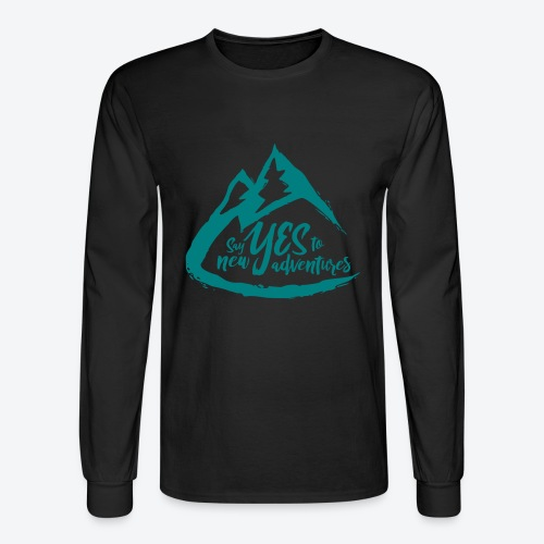 Say Yes to Adventure - Coloured - Men's Long Sleeve T-Shirt