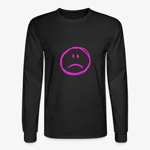 :( - Men's Long Sleeve T-Shirt