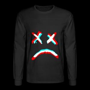 Sad face - Men's Long Sleeve T-Shirt