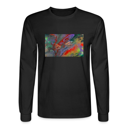 fluid thoughts - Men's Long Sleeve T-Shirt