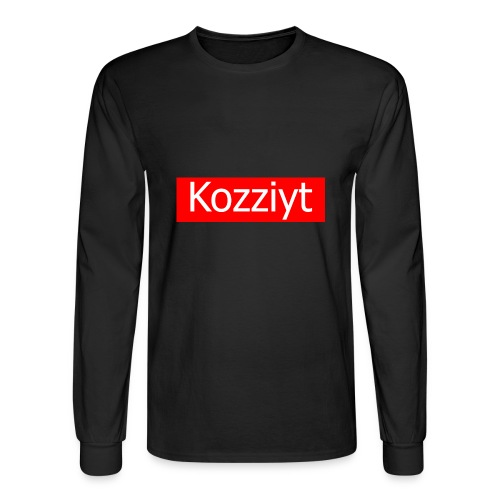 Kozziyt T-shirt - Men's Long Sleeve T-Shirt