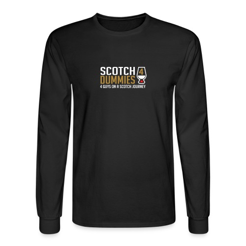 S4D Logo Tag Line - Men's Long Sleeve T-Shirt