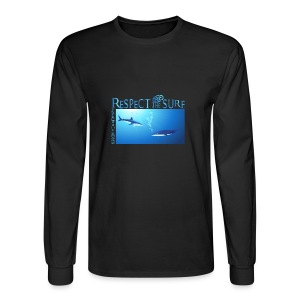 Respect The Shark - Men's Long Sleeve T-Shirt