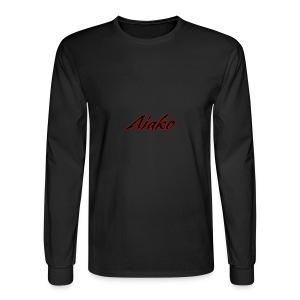 Aiako Simple Signature - Men's Long Sleeve T-Shirt