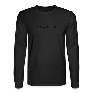 Man of Water Main Logo - Men's Long Sleeve T-Shirt