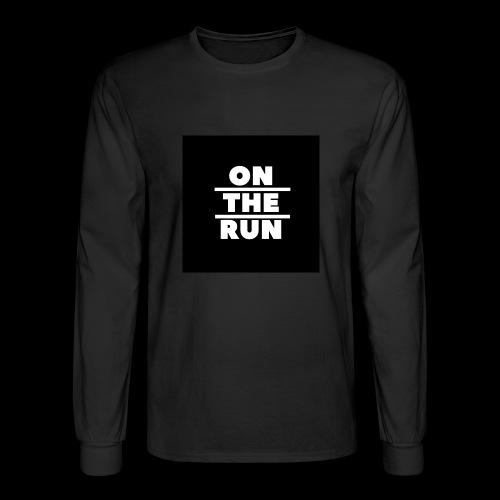 On The Run Classic Design - Men's Long Sleeve T-Shirt