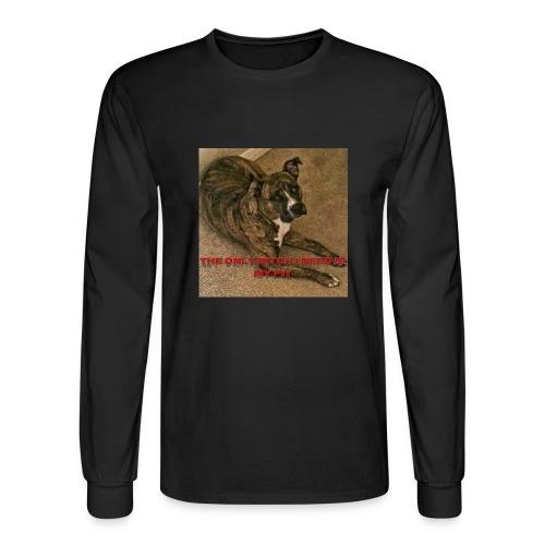 Pit bulls - Men's Long Sleeve T-Shirt