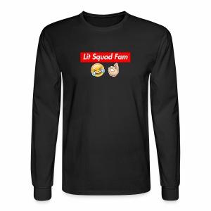 Lit Squad Fam - Men's Long Sleeve T-Shirt