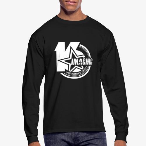 16 Badge White - Men's Long Sleeve T-Shirt