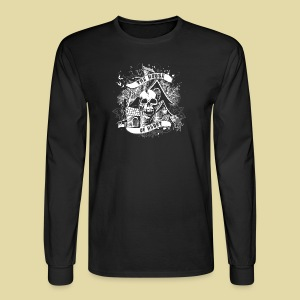 hoh_tshirt_skullhouse - Men's Long Sleeve T-Shirt